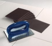 Flat Griddle Cleaning Pads, Screens and Holders
